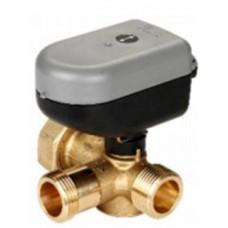 Трехходовой смесительный клапан с приводом SS2221 BNS, DN 20, арт. 3400 100174