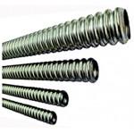 Гофрированная труба из нержавеющей стали (диаметр 15 мм)