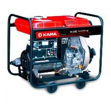 Дизельный генератор Kama KDE6500E