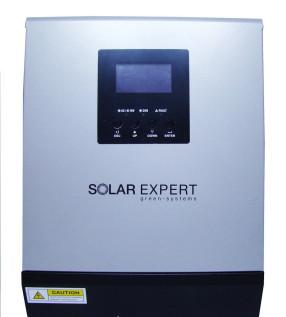 Инвертор/ЗУ/ИБП SOLAR EXPERT 1000 PWM 1000 кВА/0.8 кВт 12В/220В фото