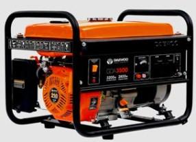Бензиновый генератор Daewoo GDA 3500 фото
