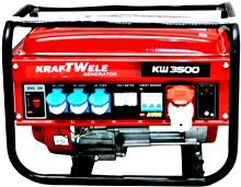 Бензиновый генератор Kraftwele OHV 3500 фото